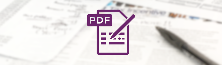 How the insurance industry uses PDF