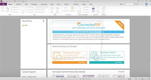 How to get started with ConnectedPDF technology
