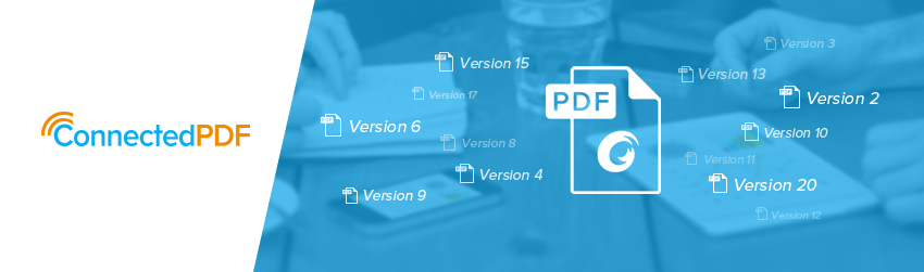 How to track different versions of your PDF with ConnectedPDF