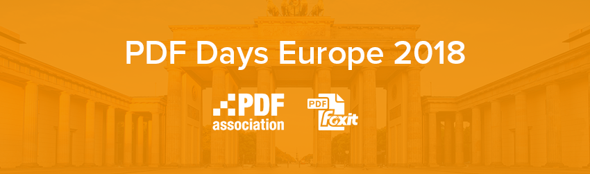 PDF Days Europe is coming this May