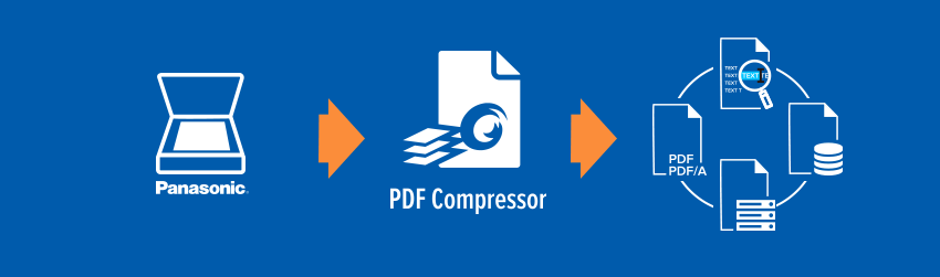 Panasonic chose Foxit PDF Compressor for all its scanners. Here's why.