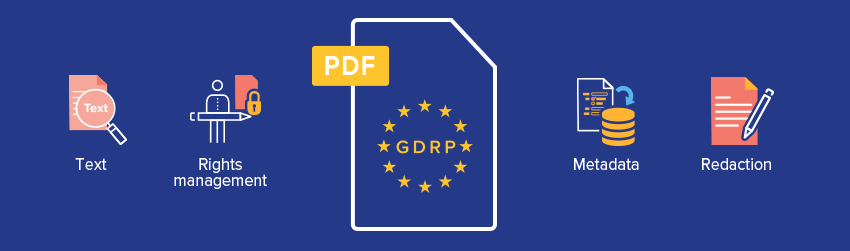 Why PDF is a great GDPR compliance solution