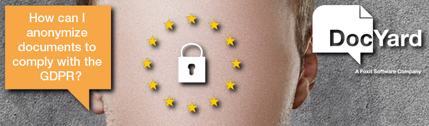 How to protect privacy data and become GDPR (DSGVO) compliance by using DocYard
