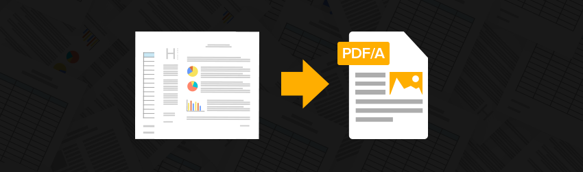 How to archive with PDF/A