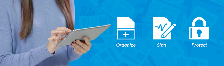 How to organize, sign, and protect PDFs using your mobile device