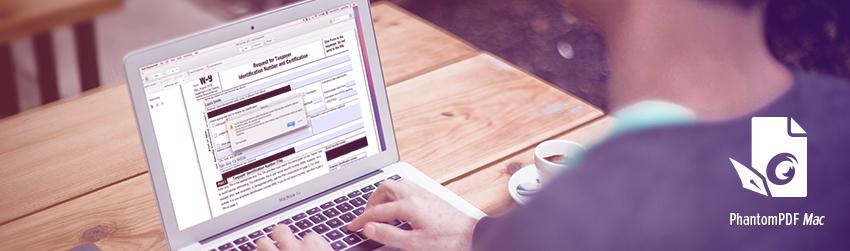 The right way to redact information using Foxit PhantomPDF <em></noscript>Mac</em>