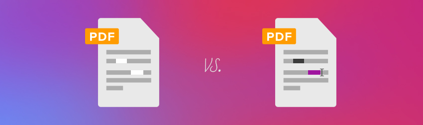 Removing sensitive information with PhantomPDF <em></noscript>Business</em>: whiteout vs. redaction