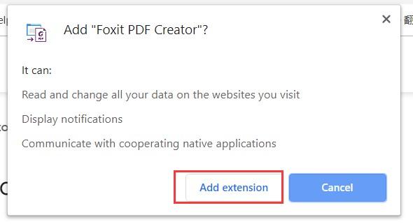 add-foxit-pdf-creator