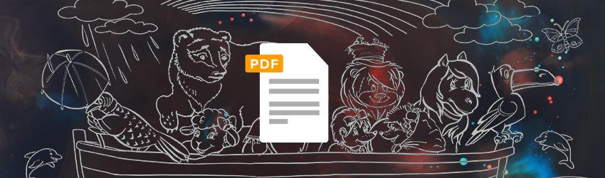 """Mit PDF wird Ihr Archiv zur """"Arche Noah"""" für jedes Dokument"""