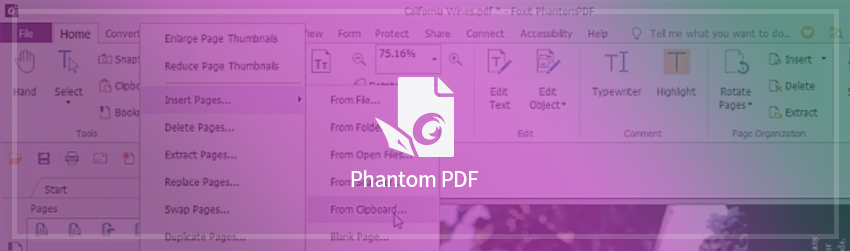 How to merge or create PDFs with existing docs