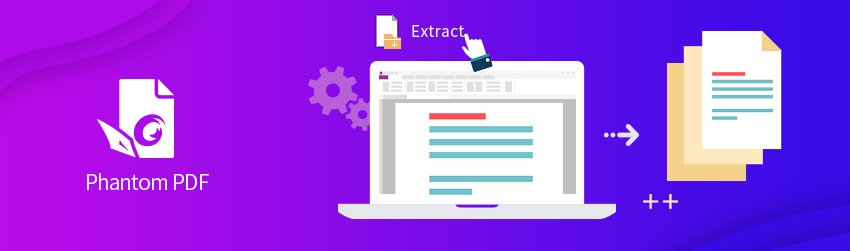 Four easy steps to extract pages from a PDF
