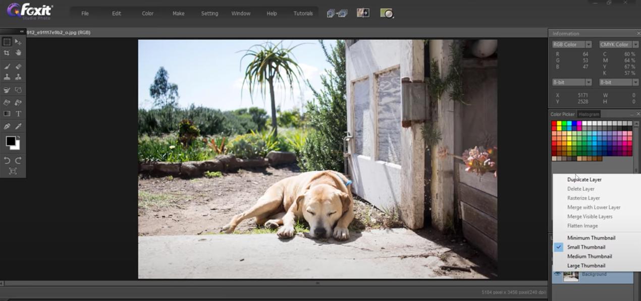 The basics of Foxit Studio Photo - 3