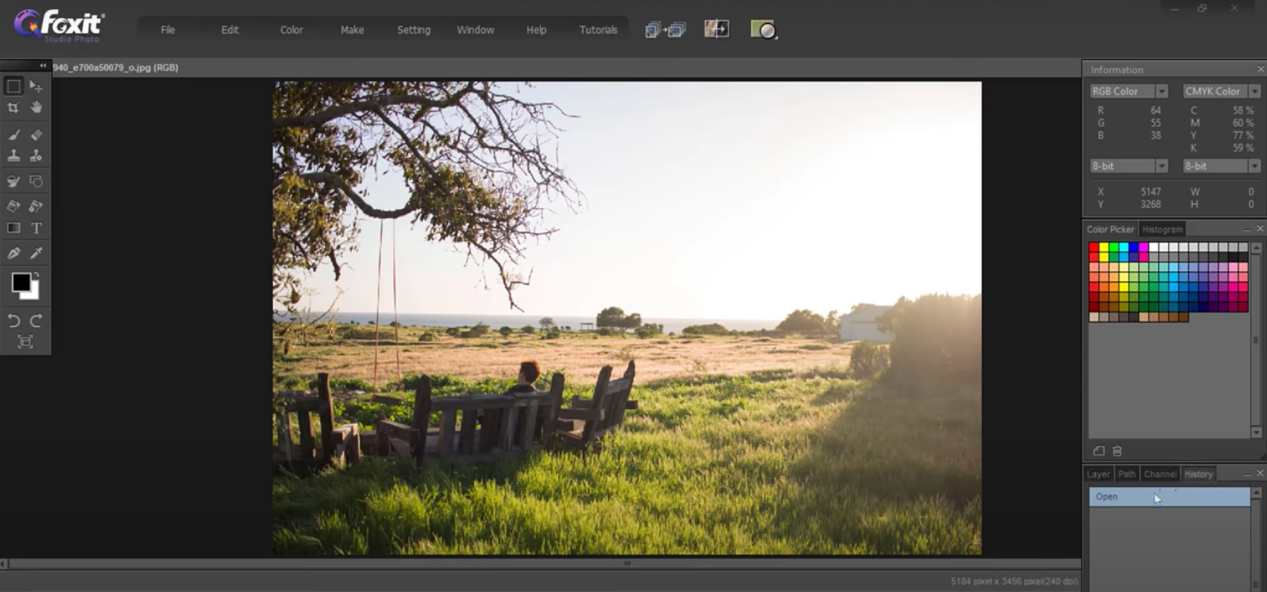 The basics of Foxit Studio Photo - 4