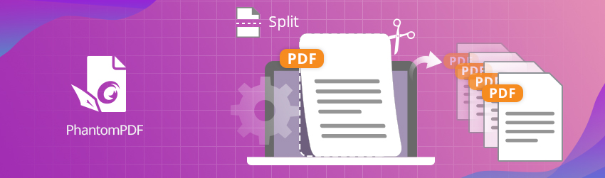 Split PDFs into multiple pages