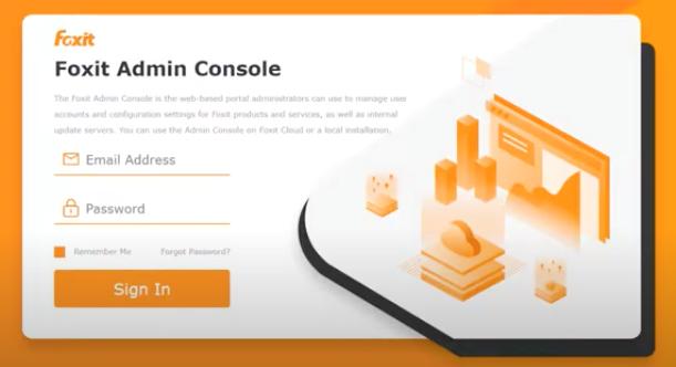 Foxit Admin Console - 1