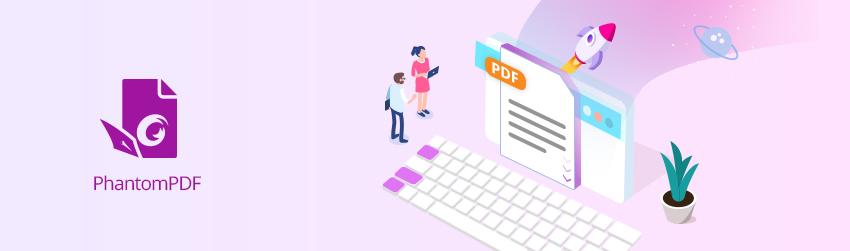 Use PhantomPDF to Navigate PDFs With Keyboard Shortcuts