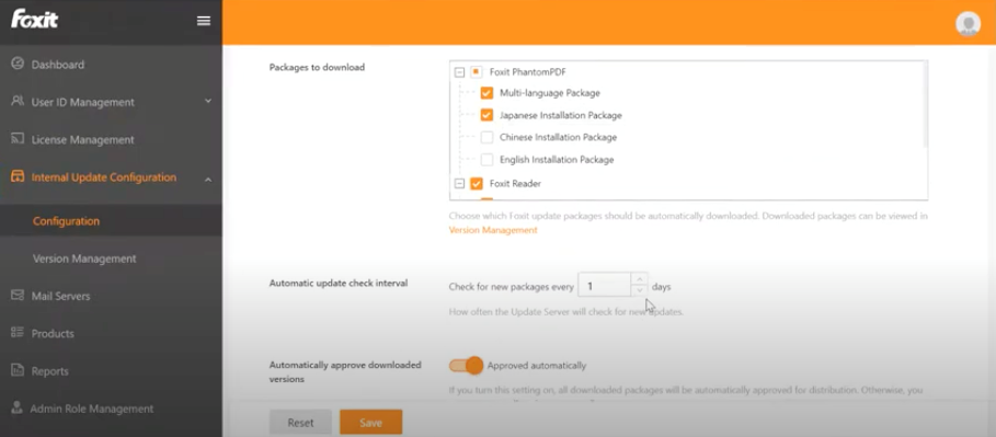 Foxit Update Server - 1