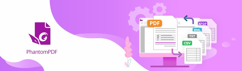 Easy ways to import and export data from PDF forms