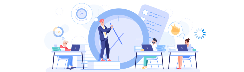 How organizations squander employee productivity