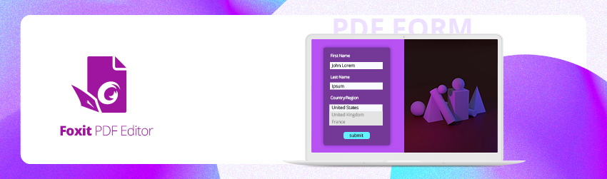 Creating Interactive PDF Form with Best Practices