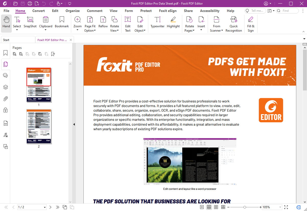 See more of Foxit PhantomPDF Business