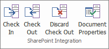 SharePoint<sup>&reg;</sup> integration
