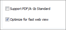 Fast Web View Support