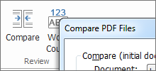 Compare PDF documents