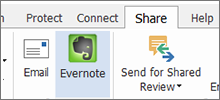 Evernote<sup>&reg;</sup> Integration