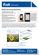 Foxit Mobile Scanning Solutions