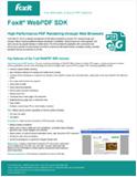 Foxit WebPDF Viewer