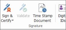Sign PDF with Digital Signatures