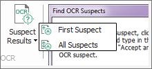Correct Suspect OCR PDF Results