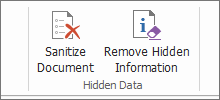 Protect PDF with Document Sanitization