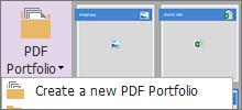 Create PDF Portfolios