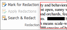 Protect PDF Information with Redaction