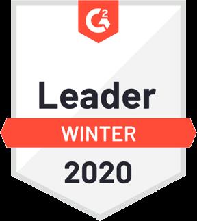 G2 Badge Enterprise Leader Winter 2020