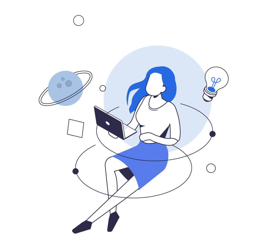 Employee learning online/virtually