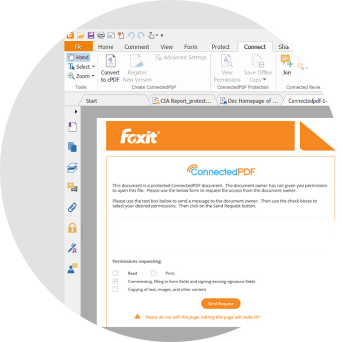 Protect & Sign PDFs