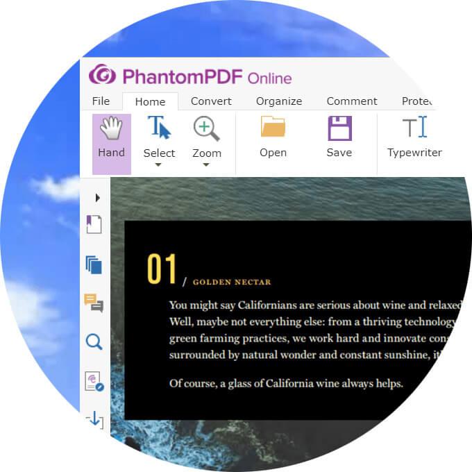 PhantomPDF Online