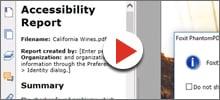 PDF Accessibility tools
